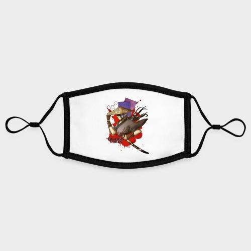 Fighting cards - Guerrier - Masque contrasté, réglable (taille S)