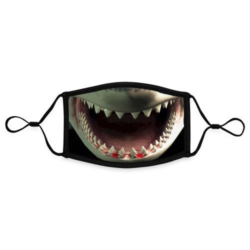 #JAWS By #ZEROMASKS≠ - Mascherina in contrasto cromatico, regolabile (piccola)