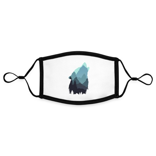 Wolf - Contrast mask, adjustable (small)