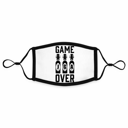 01 Game Over JGA Bierflaschen schwarz - Kontrastmaske, einstellbar (Small)