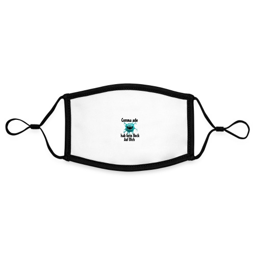 Kein Bock - Kontrastmaske, einstellbar (Small)