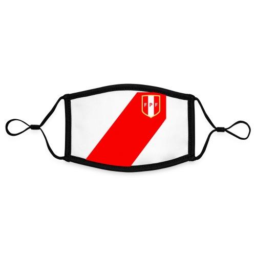 Seleccion peruana de futbol - Kontrastmaske, einstellbar (Small)