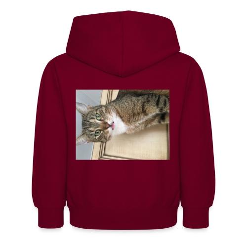 Kotek - Dziecięca bluza z kapturem
