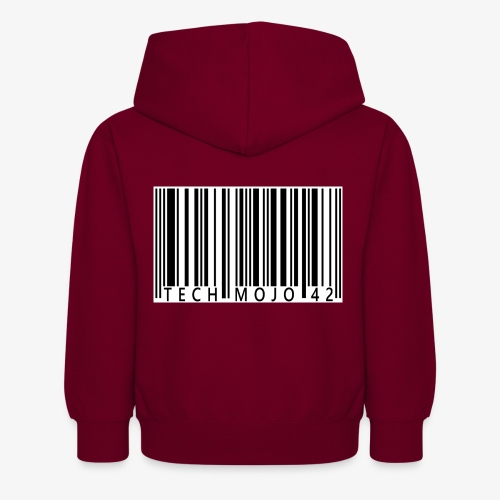 TM graphic Barcode Answer to the universe - Kids Hoodie