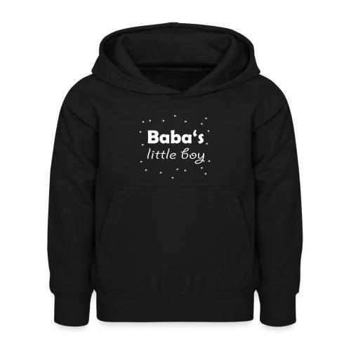 Baba's litte boy Babybody - Kinder Hoodie