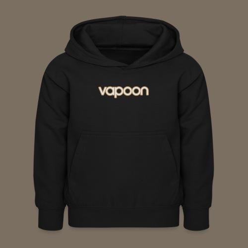 Vapoon Logo simpel 2 Farb - Kinder Hoodie
