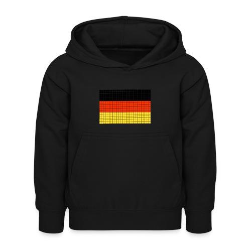 german flag.png - Felpa con cappuccio per bambini