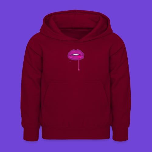 Purple Kiss - Felpa con cappuccio per bambini