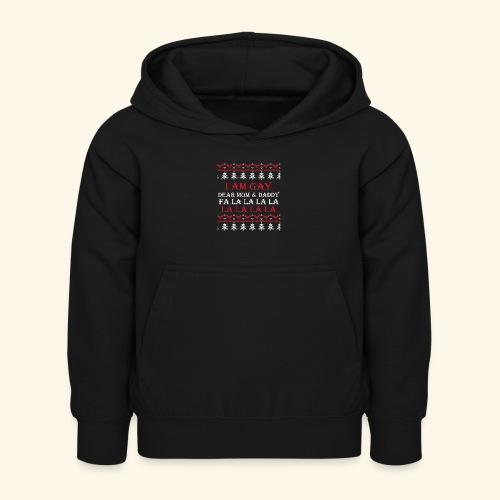 Gay Christmas sweater - Dziecięca bluza z kapturem