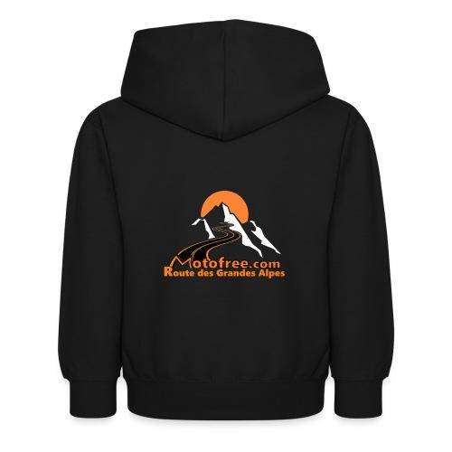 logo motofree orange - Sweat à capuche Enfant