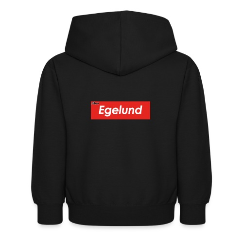Albert Egelund Box Logo - Hoodie til børn