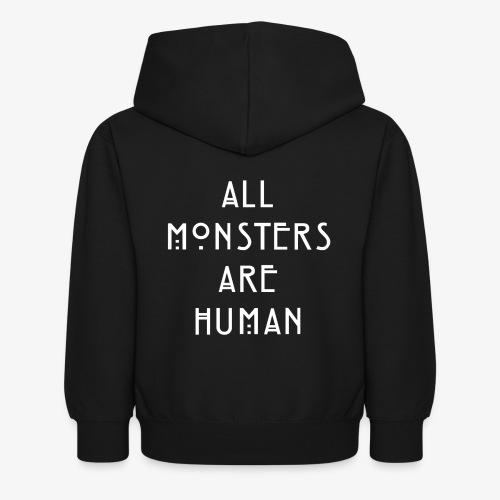All Monsters Are Human - Sweat à capuche Enfant