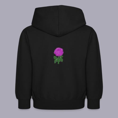 Landryn Design - Pink rose - Kids Hoodie
