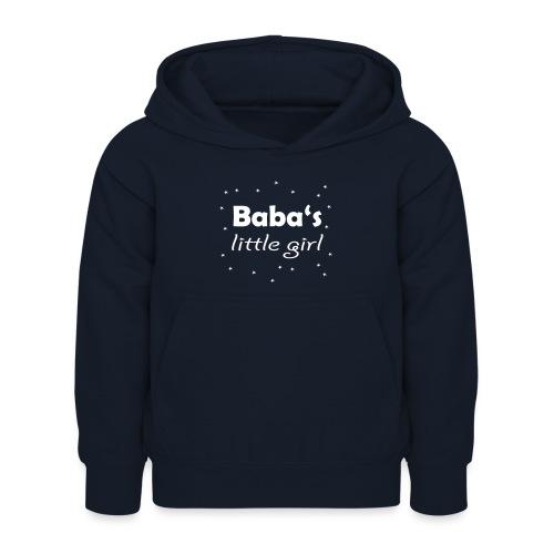 Baba's little girl Babylätzchen - Kinder Hoodie