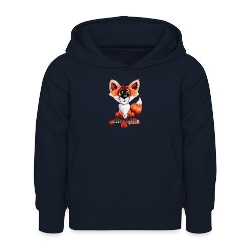 llwynogyn - a little red fox - Lasten huppari