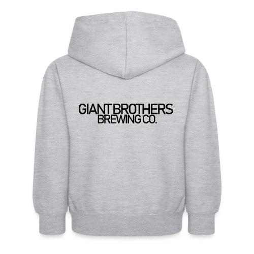 Giant Brothers Brewing co SVART - Luvtröja barn