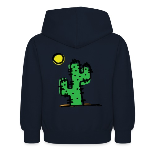 Cactus single - Felpa con cappuccio per bambini