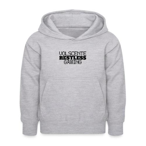 Volscente Restless Logo B - Felpa con cappuccio per bambini