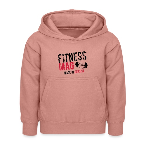 Fitness Mag made in corsica 100% Polyester - Sweat à capuche Enfant