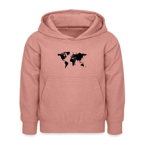 World Map - Kinder Hoodie