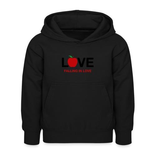 Falling in Love - Black - Kids Hoodie