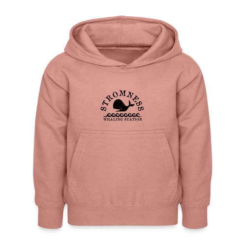 Sromness Whaling Station - Kids Hoodie