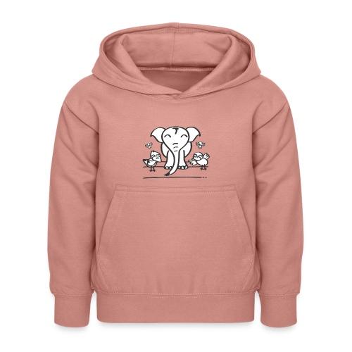 78 elephant - Kinder Hoodie