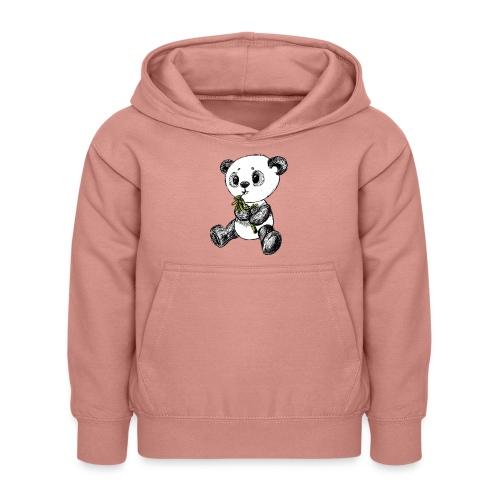 Panda Karhu värillinen scribblesirii - Lasten huppari