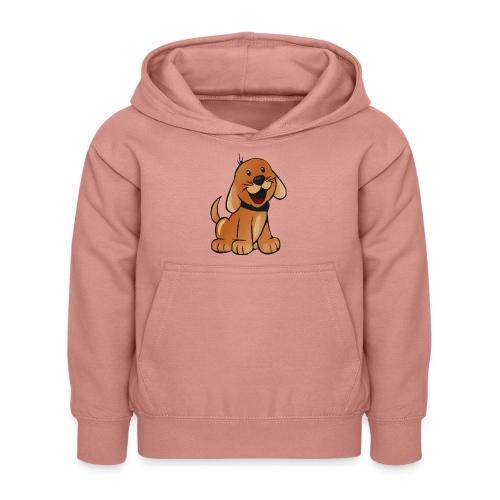 cartoon dog - Felpa con cappuccio per bambini