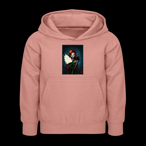 Death and lillies - Kids Hoodie