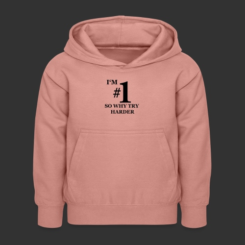 T-shirt, I'm #1 - Luvtröja barn
