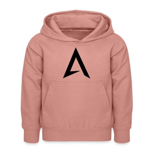 alpharock A logo - Kids Hoodie