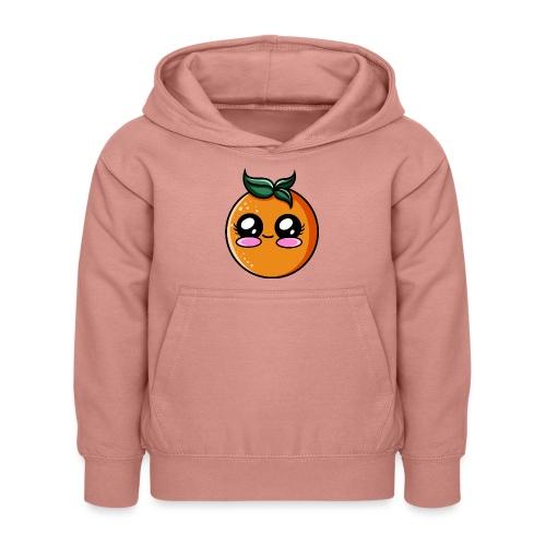Orange Kawaii - Sweat à capuche Enfant