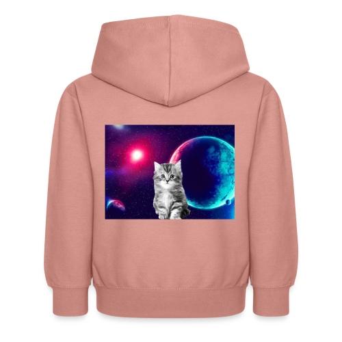 Cute cat in space - Lasten huppari