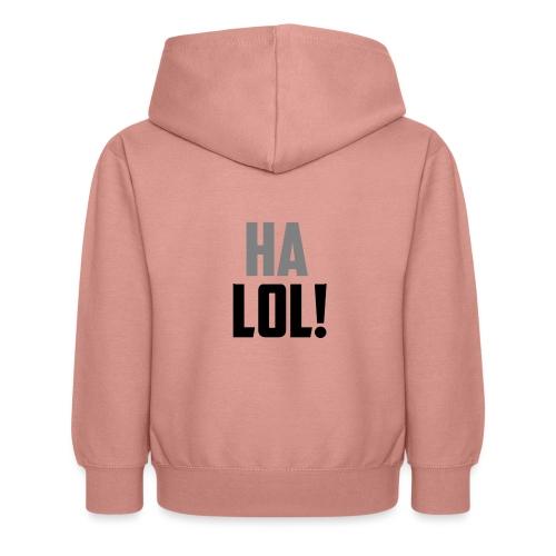 The CrimsonAura 'Ha LOL!' Stream Quote. - Kids Hoodie
