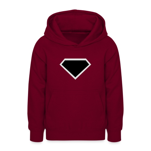 Diamond Black - Two colors customizable - Teenager hoodie