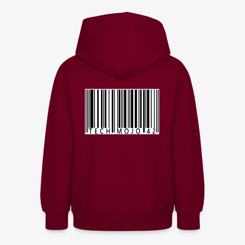 TM graphic Barcode Answer to the universe - Teen Hoodie