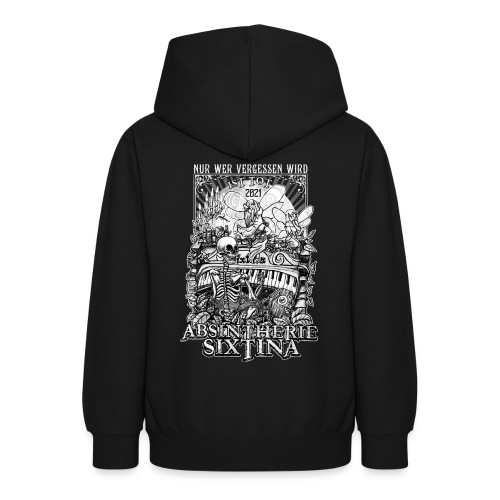 Absintherie Sixtina 2021 - Sixtina Support - Teenager Hoodie