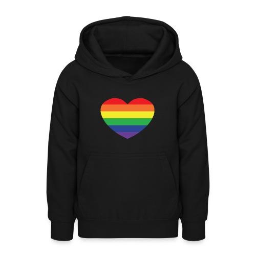 Rainbow heart - Teen Hoodie