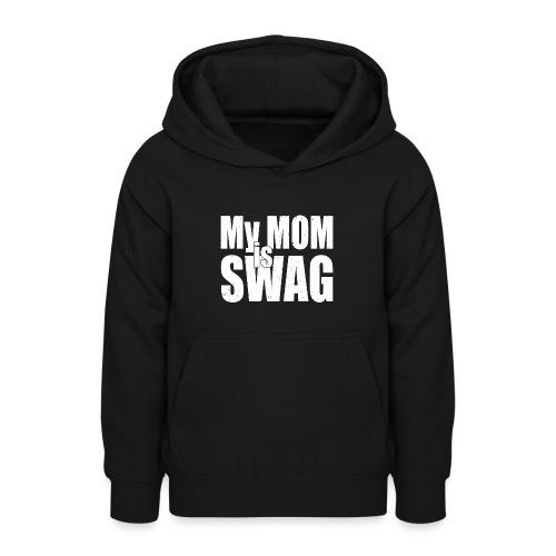 Swag White - Teenager hoodie