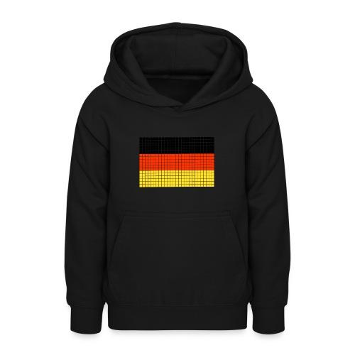 german flag.png - Felpa con cappuccio per teenager