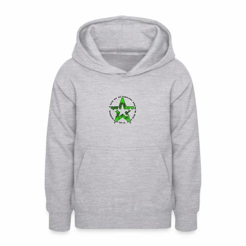 ra star slogan slime png - Teenager Hoodie