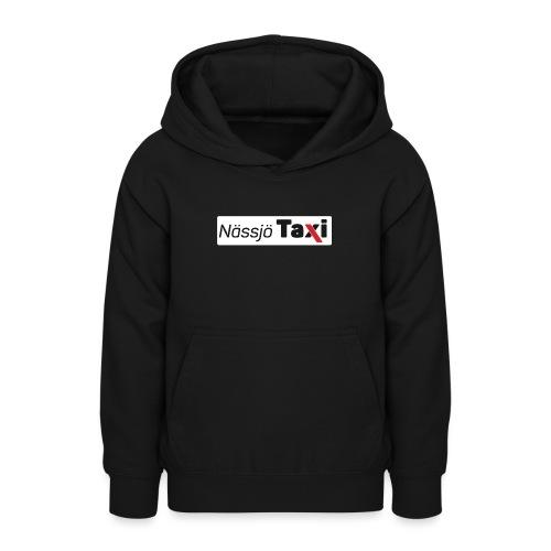 Nässjö taxi tryck - Luvtröja tonåring