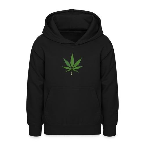 2000px-Cannabis_leaf_2 - Teeneager hoodie
