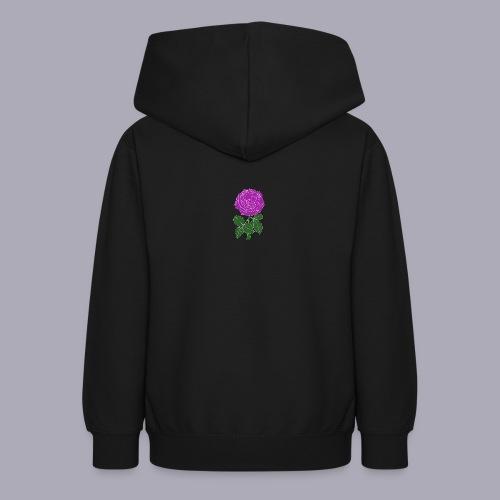 Landryn Design - Pink rose - Teen Hoodie