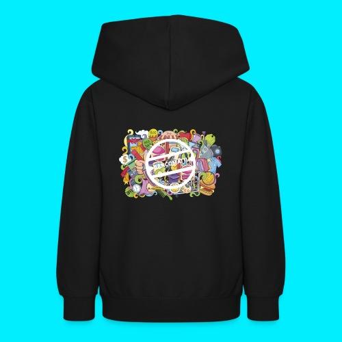 maglia logo doodle - Felpa con cappuccio per teenager