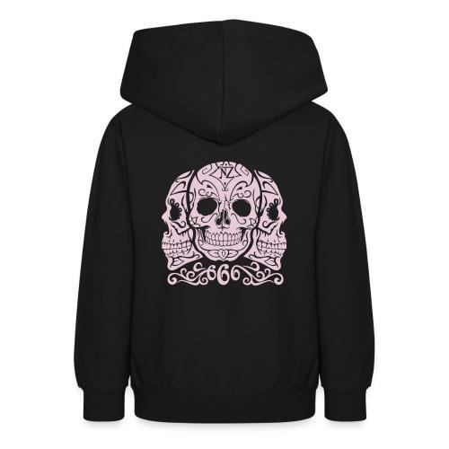 Skull Dia de los muertos - Sweat à capuche Ado