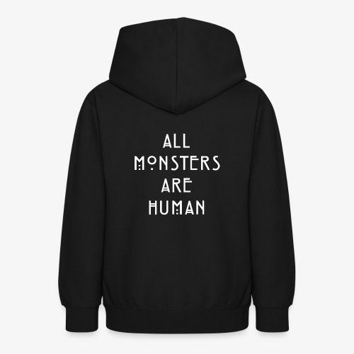 All Monsters Are Human - Sweat à capuche Ado