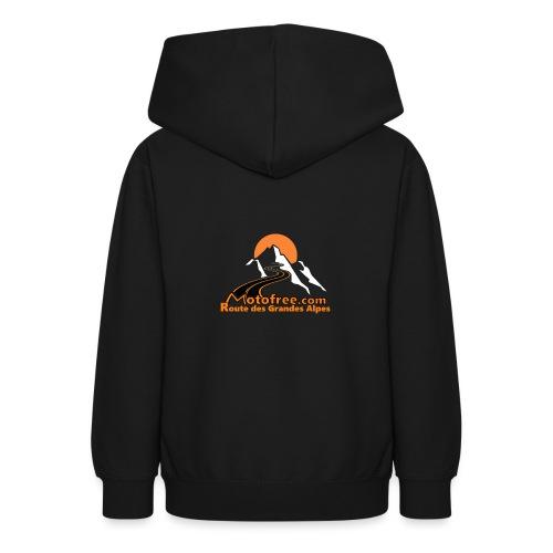 logo motofree orange - Sweat à capuche Ado