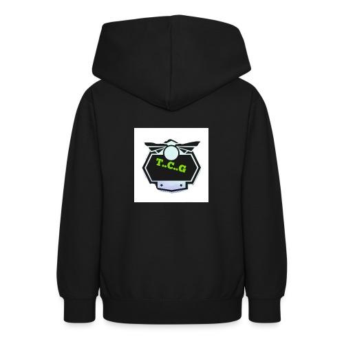 Cool gamer logo - Teen Hoodie